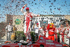Dixon wins as multiple drivers run out of fuel at Sonoma
