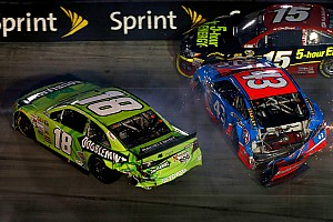 NASCAR Sprint Cup Breaking news Crew Chief Dave Rogers slams Kyle Busch over the radio