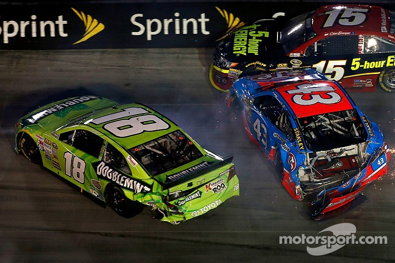 Crew Chief Dave Rogers slams Kyle Busch over the radio