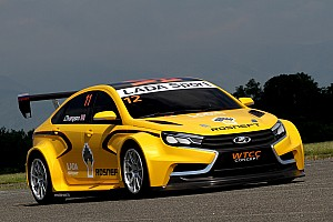 WTCC Breaking news LADA unveils new WTCC car and new sponsor for 2015-2017