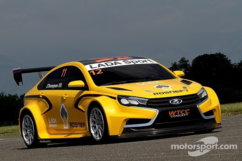 LADA unveils new WTCC car and new sponsor for 2015-2017