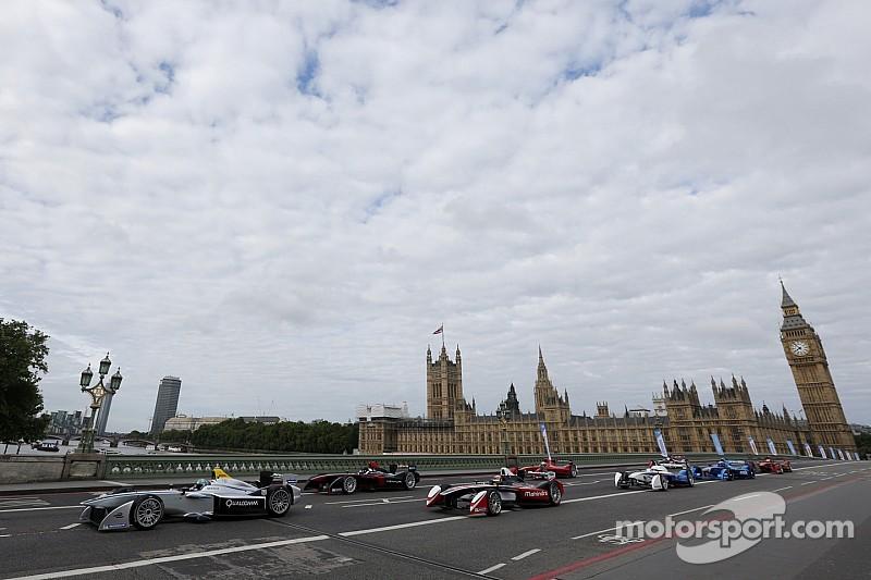 World's first trackside motor shows to run alongside Formula E events