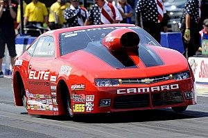 Erica Enders-Stevens ready for the NHRA countdown