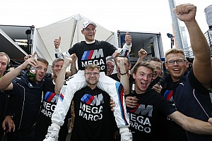 Wittmann wins the 2014 Drivers' Championship in the BMW M4 DTM to make history at the Lausitzring