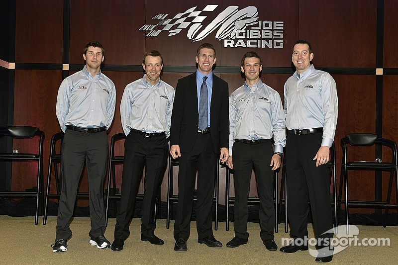 Change is in the air at Joe Gibbs Racing