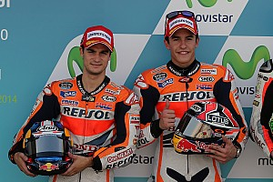 Marquez takes pole position in record time at Aragón