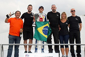 Formula Renault Race report Pietro Fittipaldi crowned champion at Silverstone