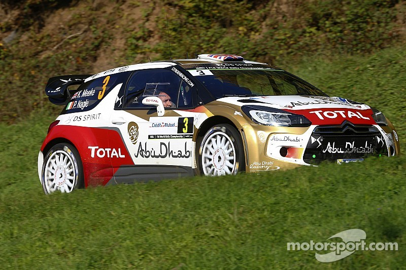Meeke and Østberg in confident mood in France
