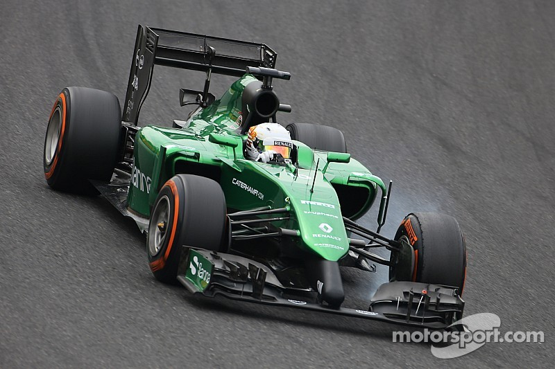 Kobayashi, Merhi unclear over Caterham future