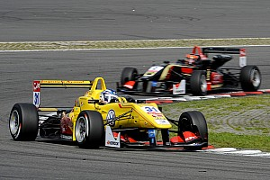 F3 Europe Race report Blomqvist wins from Verstappen – battle for title remains open