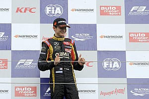 F3 Breaking news Esteban Ocon to test with Lotus F1
