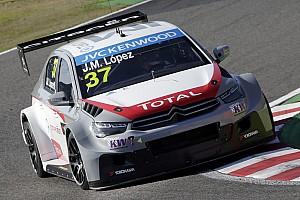 WTCC Qualifying report Pole for López as Citroën secure 1-2-3!