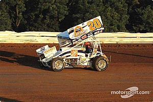 Sprint Race report Blaney takes $15,000 Renegade sprint car win, Lasoski second