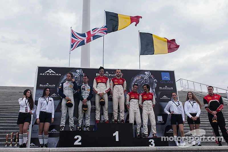 Perfect weekend in Baku brings five additional titles to the Belgian Audi Club Team WRT!