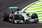 Mercedes set the pace on the opening day at Interlagos