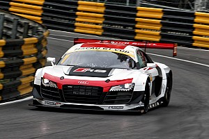 GT Qualifying report Title contenders suffer setbacks during qualifying at Macau