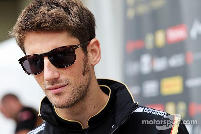Grosjean confirmed at Lotus for 2015