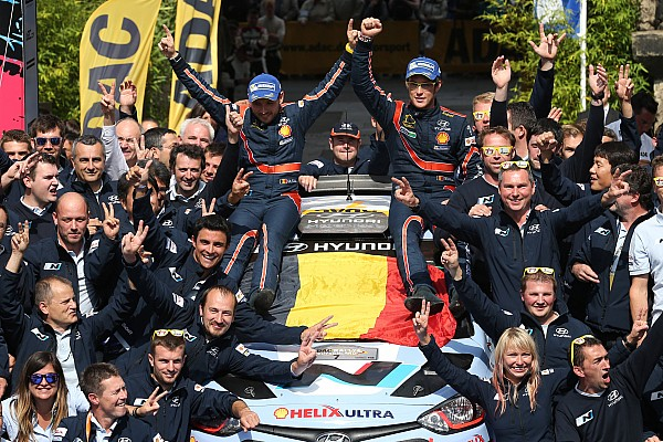 Top 20 moments of 2014, #18: Neuville, Hyundai win first rally after rolling in Germany