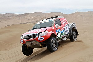 2015 Dakar Rally: Stage 10 results