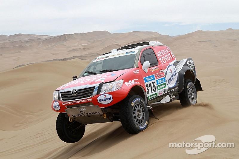 2015 Dakar Rally: Stage 10 results