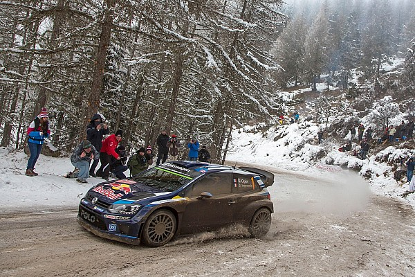 Ogier holds lead heading into final day
