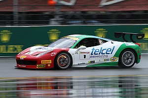Ferrari Race report North American Ferrari Challenge – A formidable race beneath the rain