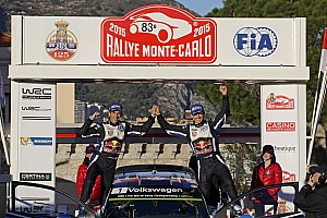 WRC Stage report Ogier wins Rally Monte Carlo