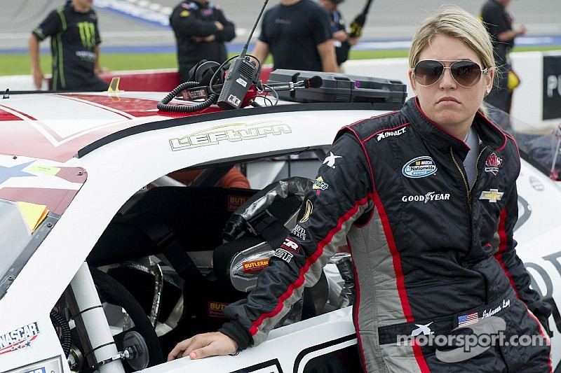 Johanna Long is getting back on track