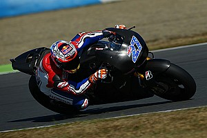 MotoGP Breaking news Stoner completes three day Honda MotoGP test