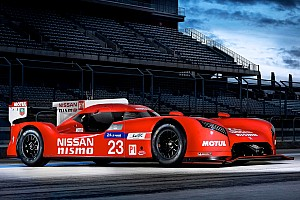 WEC Breaking news Innovative launch for the new Nissan LM P1!