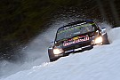 Ogier hits trouble after forgetting to pin his bonnet down