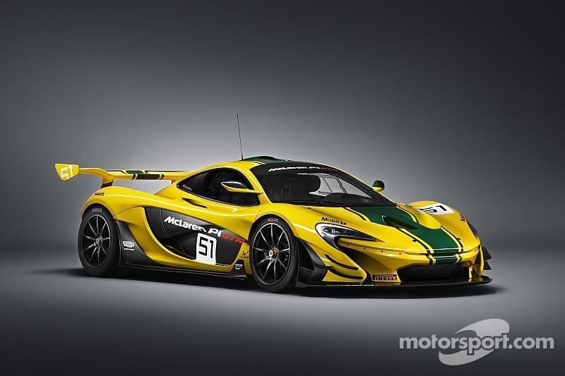 McLaren unveils track-ready P1 GTR