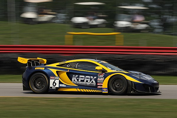 K-PAX Racing with Flying Lizard Motorsports announces driver lineup following first 2015 test