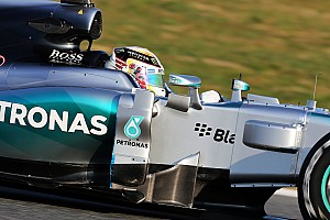 Hamilton returns to action in Barcelona