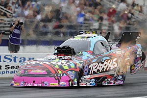 Courtney Force, Tony Schumacher and Erica Enders-Stevens are Friday qualifying leaders at Nationals