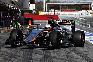 Barcelona: Hülkenberg clocked 158 laps at the wheel of the new VJM08