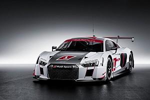 Blancpain Endurance Новость Новая Audi R8 LMS готовится к дебюту