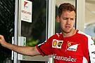 Vettel no aceptó invitación de Rosberg