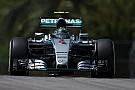 Rosberg pips Hamilton in final Sepang practice
