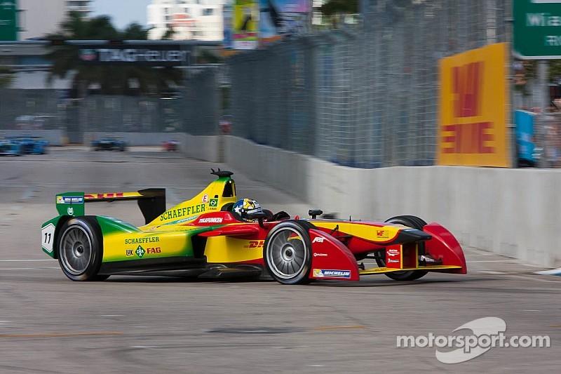 Di Grassi on top again in final Long Beach practice