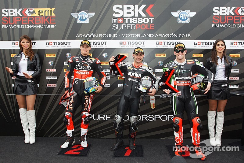 Haslam races to Aragon Tissot-Superpole