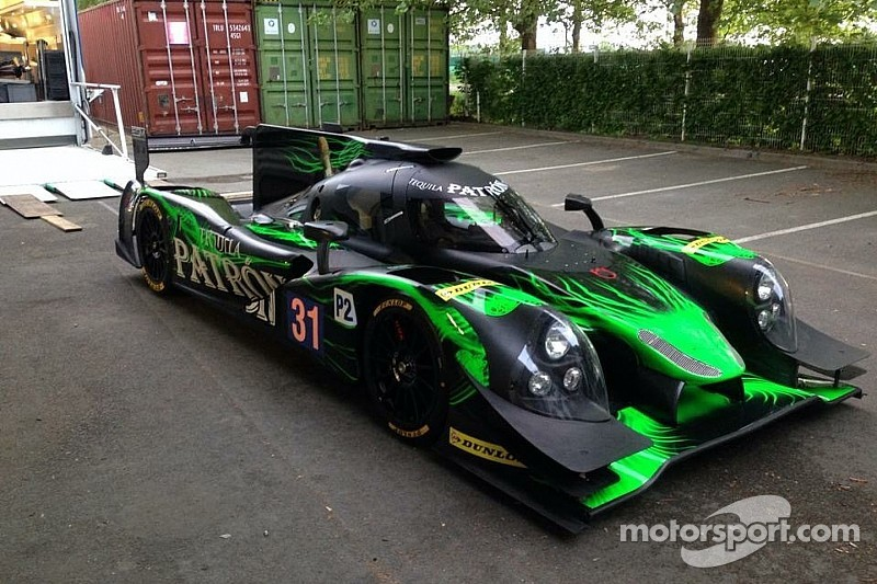 Soggy start for Tequila Patron ESM team at Spa
