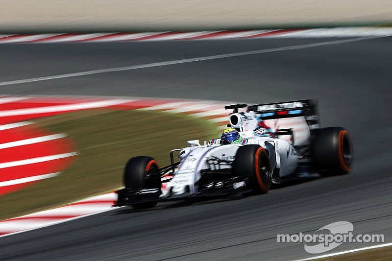 Massa está satisfecho con el ritmo de su Williams