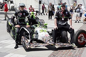 Towsend Bell tops 223 mph at Indy practice