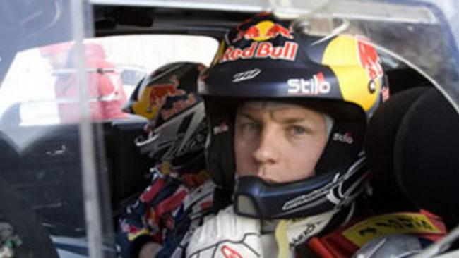 WRC: incidente in ricognizione per Raikkonen