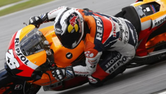 MotoGP 2010, Sepang, Test: team Honda