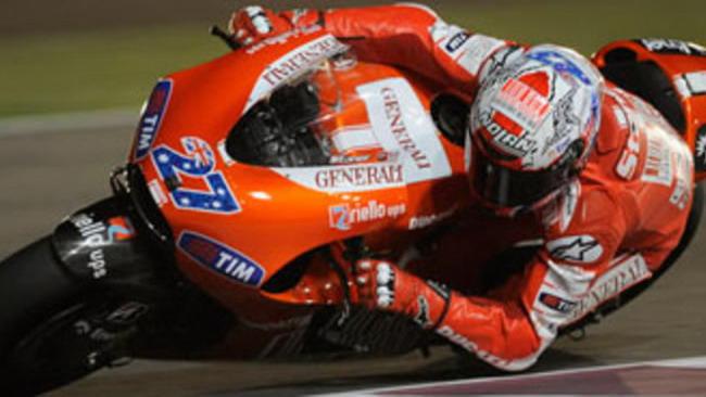 Moto GP 2010, Qatar, Qualifiche: la prima pole è di Stoner