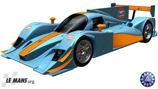 La Gulf Racing salta in classe LMP2