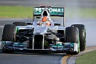 Melbourne, Libere 2: Schumacher si presenta!