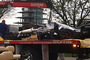 Newgarden escapes airborne crash uninjured